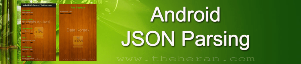 Tutorial Menampilkan Data JSON pada Android (Android Json)